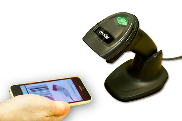 DS4308は携帯の液晶画面も読み取れる