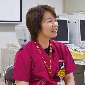 長崎大学病院 看護部・医療情報部 岡田みずほ 看護師長