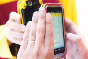 NFCで情報連携